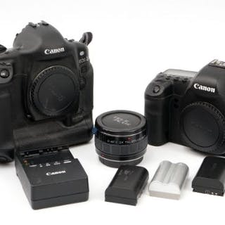 A Canon EOS 5D Mark II Digital SLR Boody