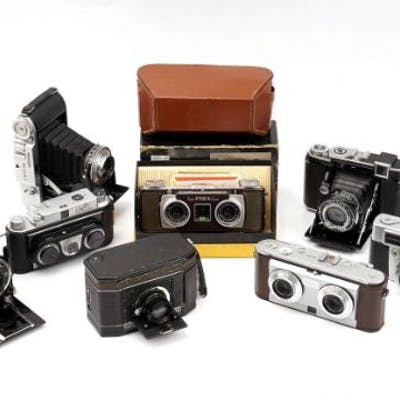 A Selection of Various Cameras