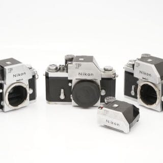 Three Nikon F SLR Bodies