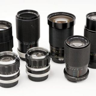 A Selection of Nikon Mount Lenses