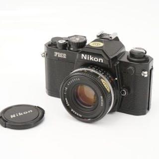 A Nikon FM2n SLR Camera