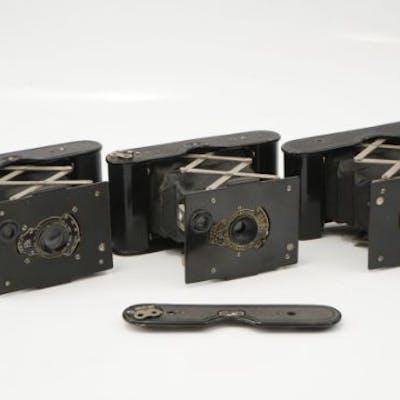 Three Kodak Vest Pocket Cameras