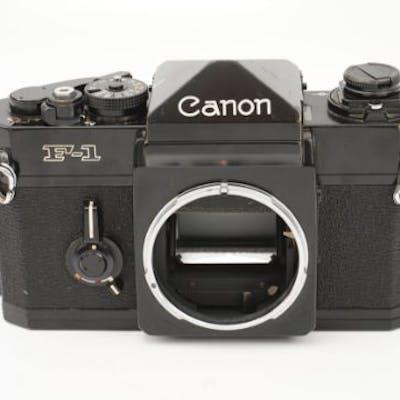 A Canon F-1 SLR Body
