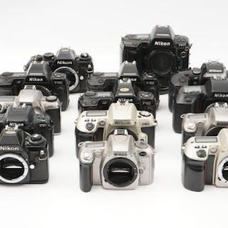 A Selection of Nikon SLR Bodies