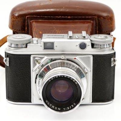 A Voigtlander Prominent Rangefinder Camera