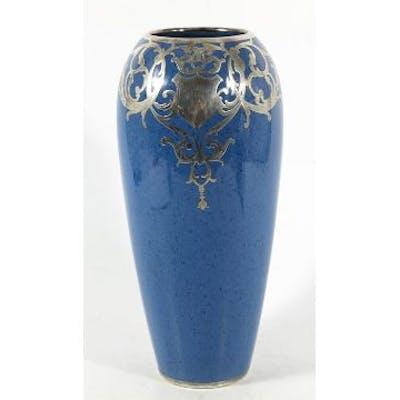 William Moorcroft, a Powder Blue vase