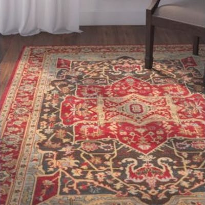 Red Area RugClassic Persian Motifs That Have Graced Elegant Rooms