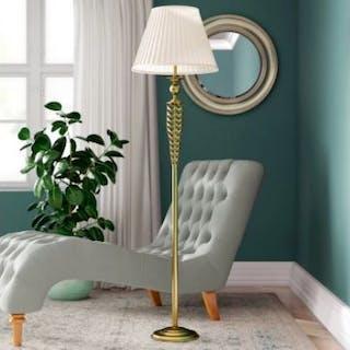 Brass 169cm Floor Lamp 2 X Floor Lamps Supplied Antique Brass Floor