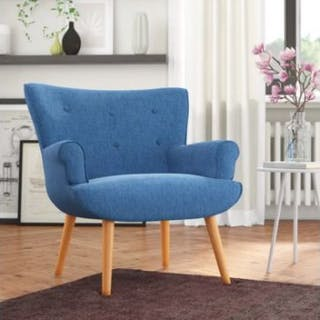 Nordic Armchair With Scandinavian Influences The Chair Is A True-To-Inspiration