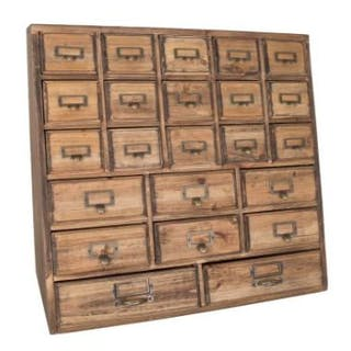 Inspired 23 Drawer Chest Create An Inspired Space Reminiscent Of Open