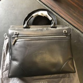 Mark Giusti Milano Leather Briefcase The Gatsby RRP £695.00 The Milano
