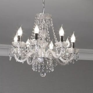 Crystal Chandelier 8 Light The Crystal Lighting Collection Is Inspired