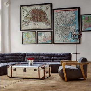 Capital Map Madrid These Unframed City Maps Pay Homage To Each City's