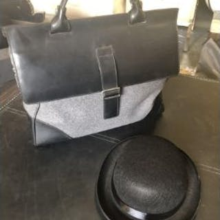 Mark Giusti Milano Nappa Leather Briefcase This Briefcase Is Made
