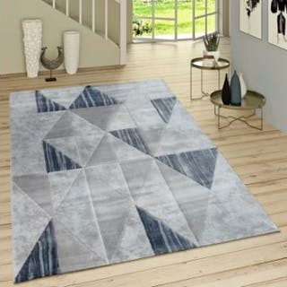 Vintage Grey/Blue RugThis Grey Vintage-Style Rug Features A Refreshing