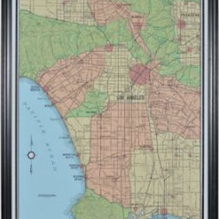 Capital Map Los Angeles These Unframed City Maps Pay Homage To Each