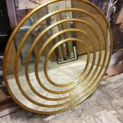 Gilded Wall Accent Mirror 120cm