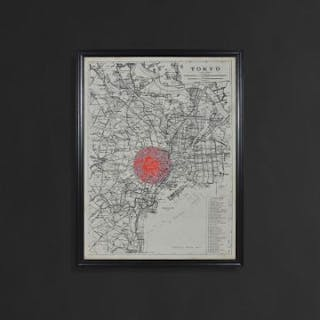 Capital Map Tokyo These Unframed City Maps Pay Homage To Each City's