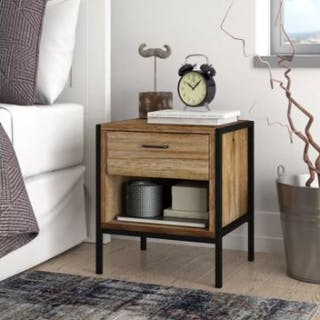 A pair of Chic single drawer bedside tables Our bedroom range is perfect