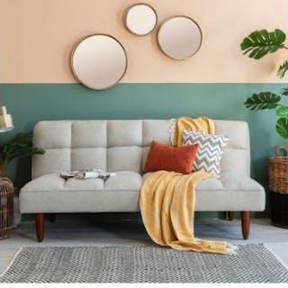 Oslo Sofa Bed Parchment