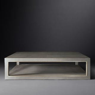 Shagreen Square Coffee Table