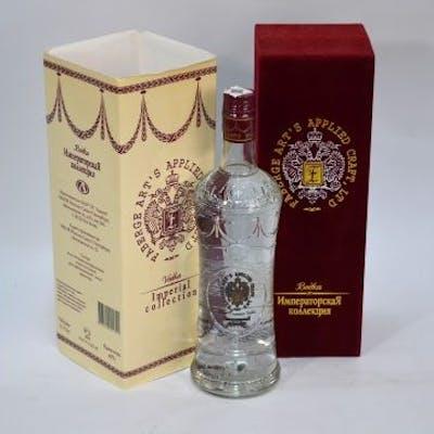 A Boxed Faberge Arts Applied Craft Ltd Bottle Of Super Premium Vodka Barnebys