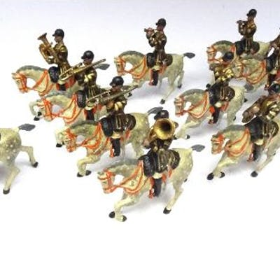 Britains set 101, Band of the 1st Life Guards