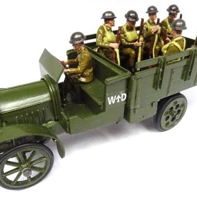 Toy Army Workshop Open Lorry, Tundra finish
