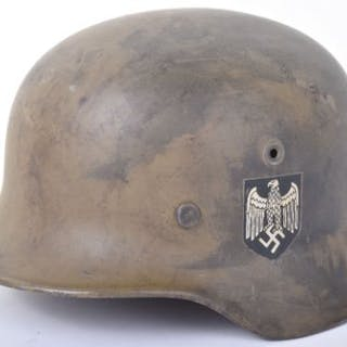 WW2 German Army M40 Helmet – Current sales – Barnebys com