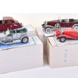 Four Boxed Franklin 1:24th Scale Precision Models