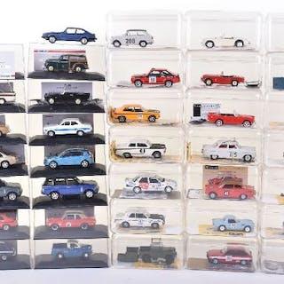 Thirty Six Lledo Vangard Model Vehicles