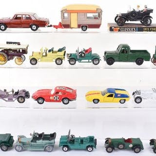 Unboxed Obsolete Diecast Models