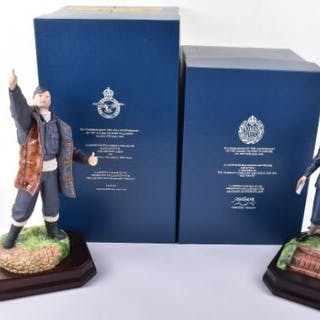Two Ashmor limited edition porcelain figures