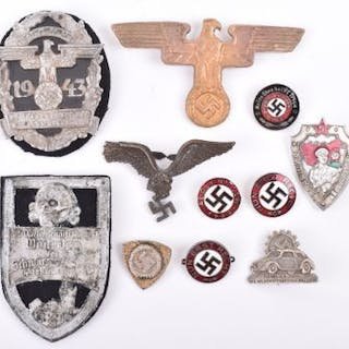 Selection of WW2 German / Third Reich Badges