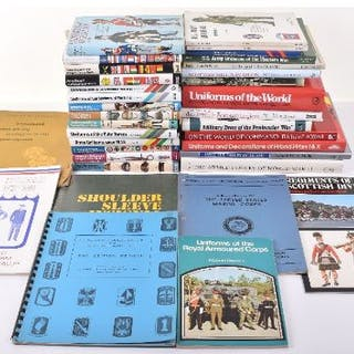 Books on Military Uniforms & Badges