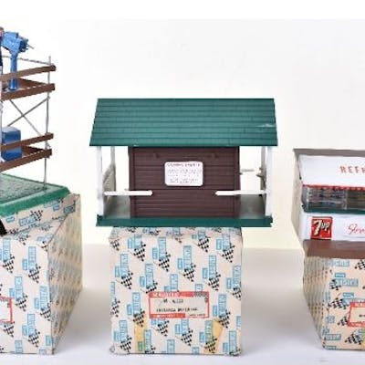ThreeBoxed Scalextric Buildings