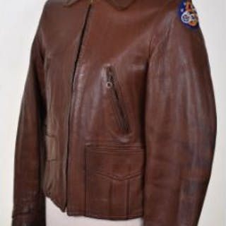 Private Purchase American Leather Flying Jacket