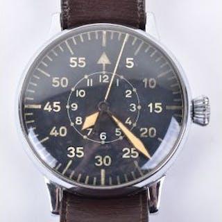 WW2 Luftwaffe Observers Wristwatch by Laco (Beobachtungsuhr)