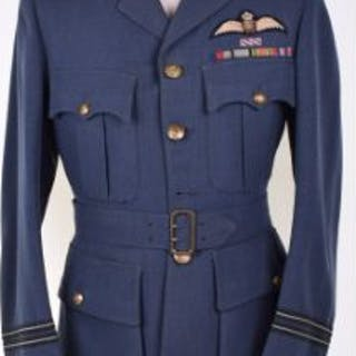 WW2 Royal Air Force Distinguished Flying Cross Winners Service Dress Tunic