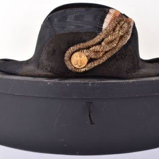 Scarce Third Reich Kriegsmarine Officers Fore and Aft Dress Cap in