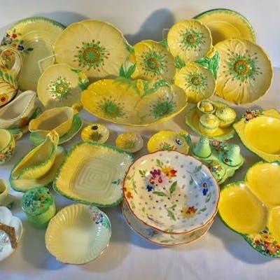 A large quantity of ceramics to include Carlton Ware, Corona Ware