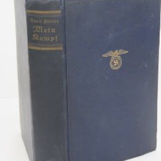 An SS presentation copy of Adolf Hitlers Meine Kampf