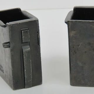A WWII Volksturm Issue PPsh 41 - MP40 magazine adapter.