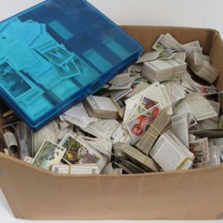 An extensive collection of loose cigarette cards, some in sets/part
