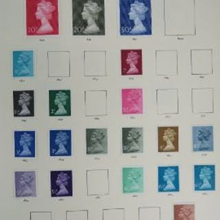 Stanley Gibbons; The Millennium Collection' in two binders