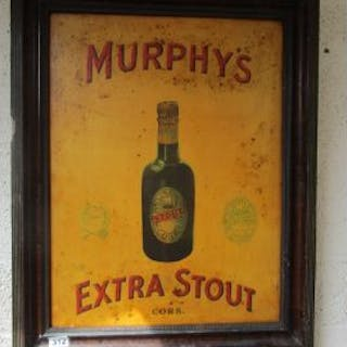 Framed Murphy's advertising picture