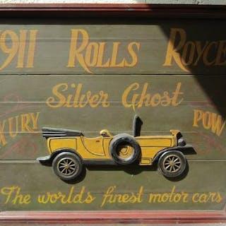Rolls Royce relief plaque
