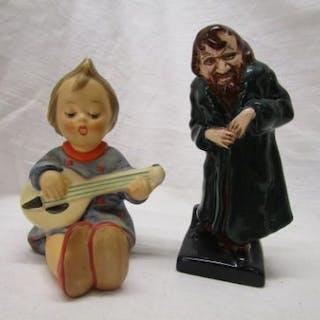 Royal Doulton figure - Fagan & Goebel Hummel figure