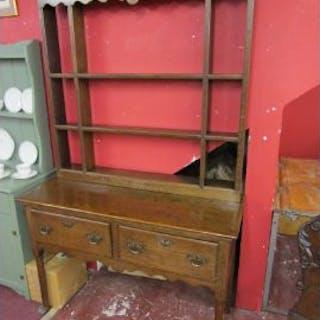 Small antique oak dresser