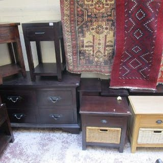Chest of drawers & various bedside cabinets
